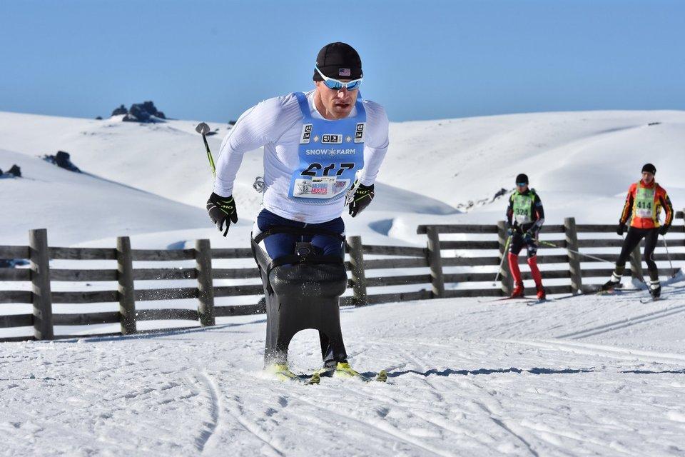 DAn Cnossen Sit Skier 1