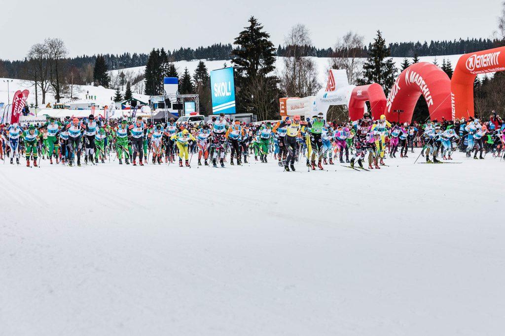 Start of the Jizerska Padesatka 2019